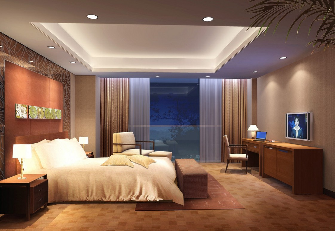 best modern bedroom lighting photo - 4