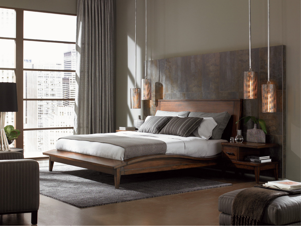 best modern bedroom lighting photo - 5