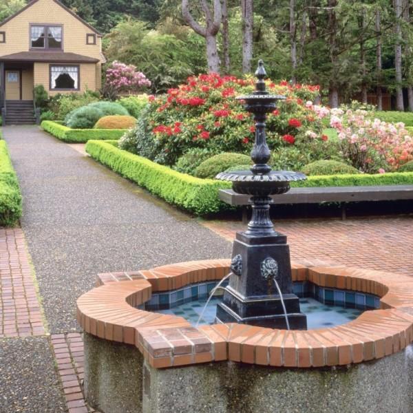 best outdoor garden fountains photo - 5