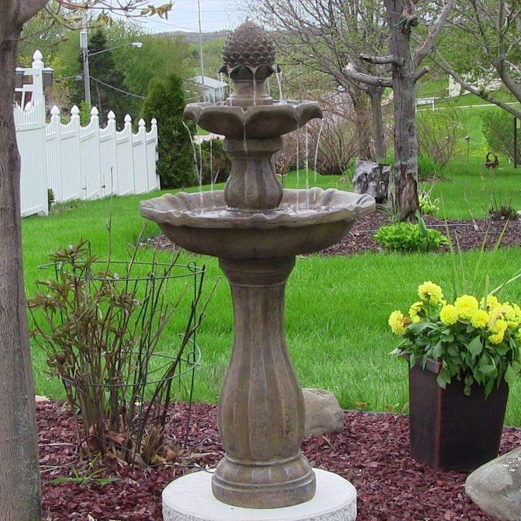 best outdoor garden fountains photo - 6