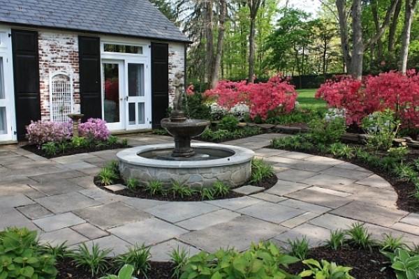 best outdoor garden fountains photo - 9