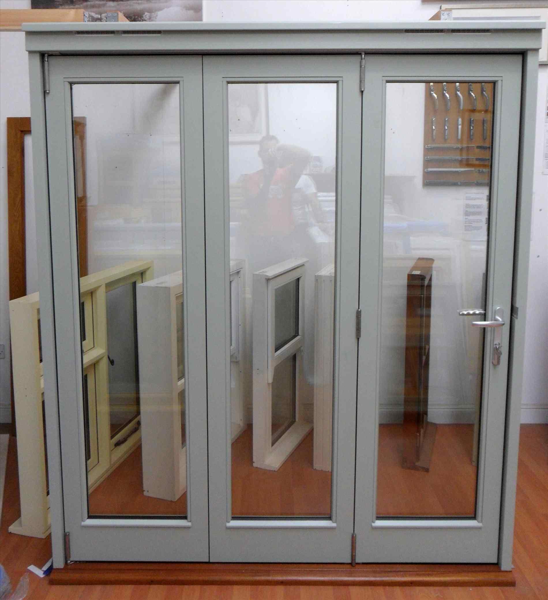 bi folding french doors exterior photo - 10
