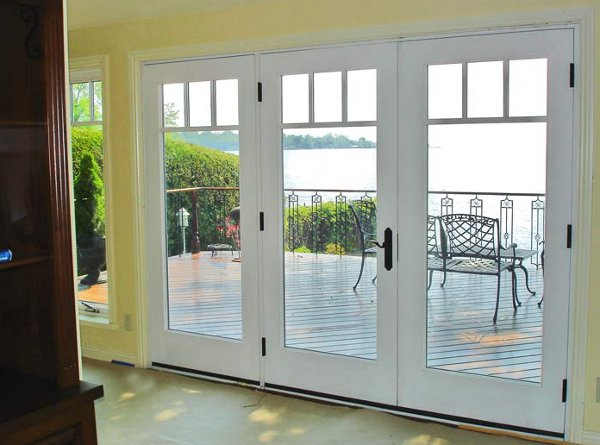 bi folding french doors exterior photo - 7