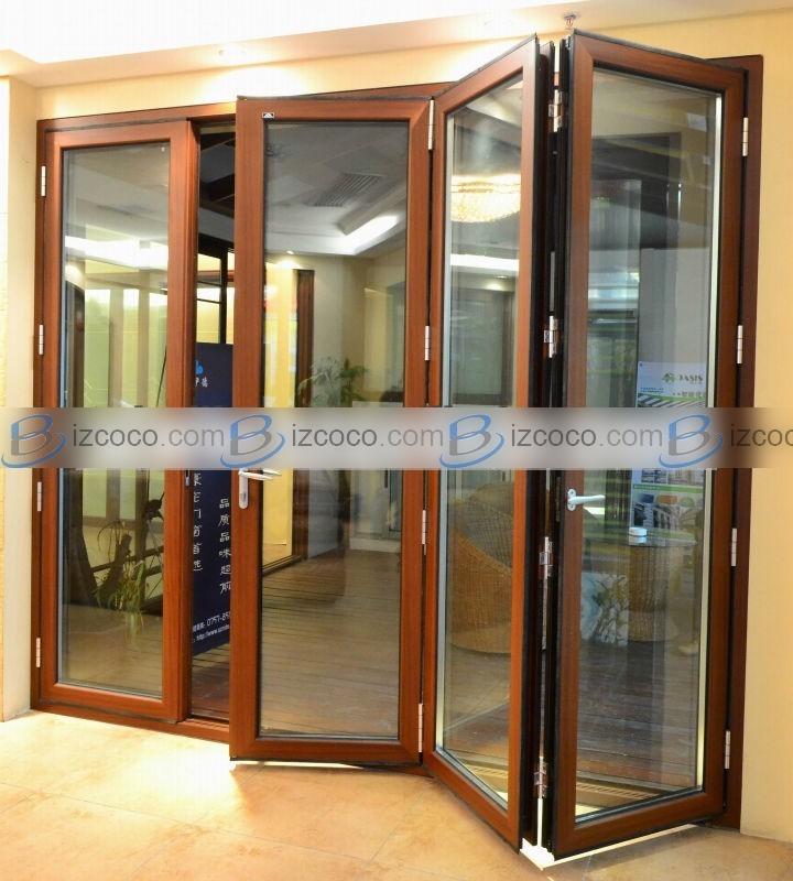 bi folding french doors exterior photo - 8