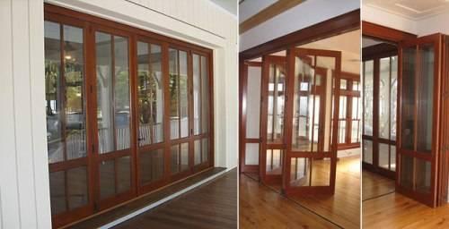 bi folding french doors exterior photo - 9
