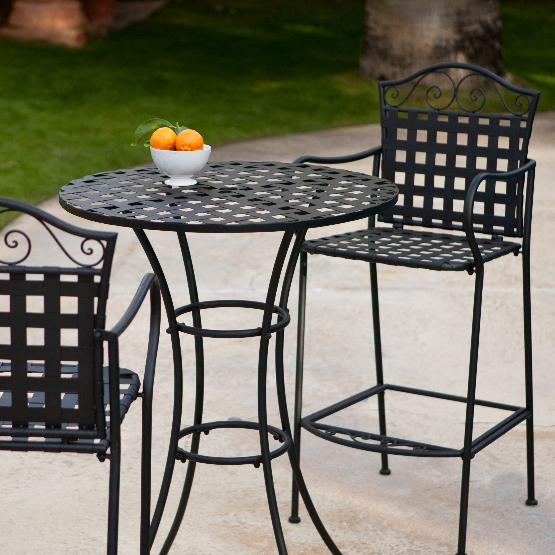 bistro bar sets outdoor furniture photo - 1