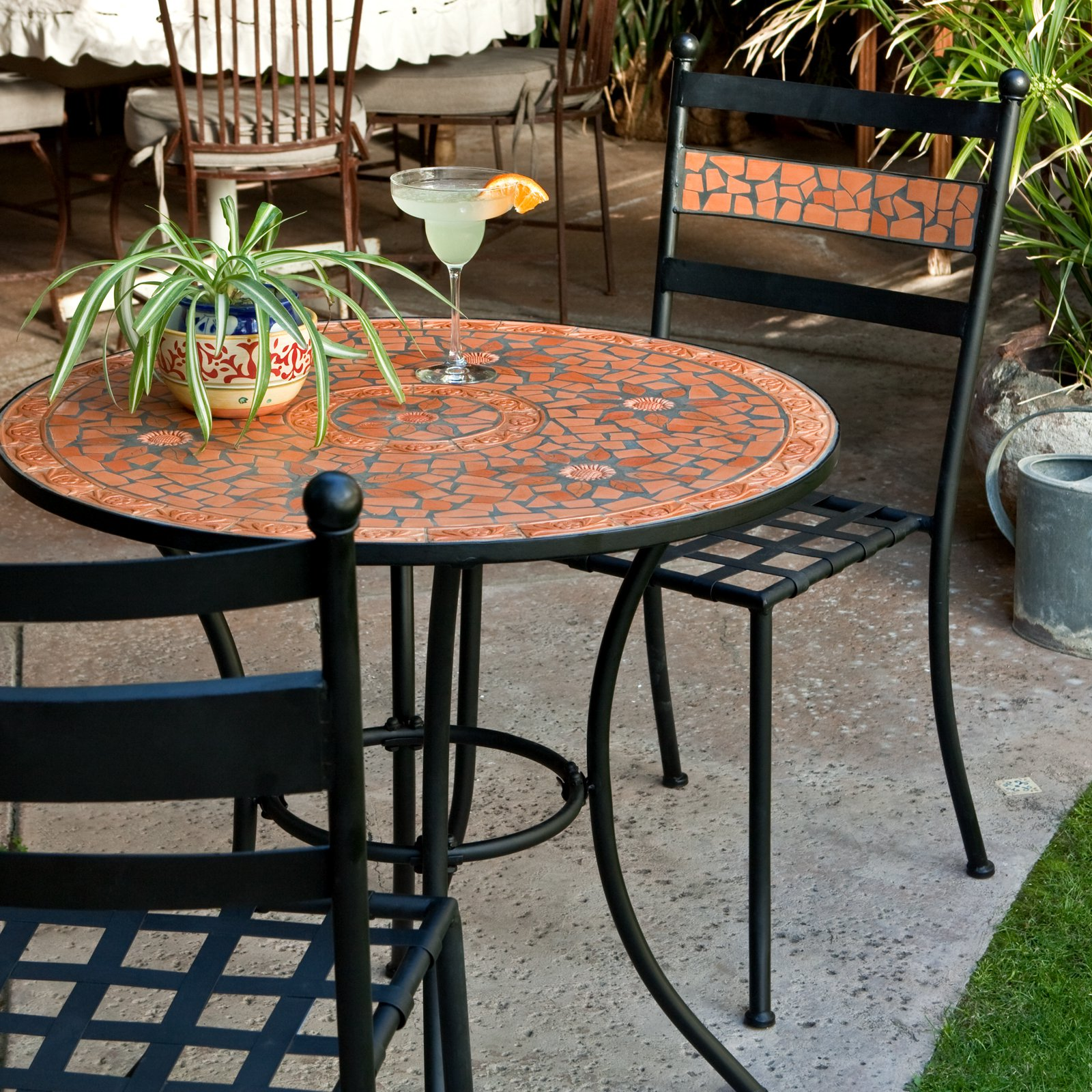 bistro bar sets outdoor furniture photo - 5
