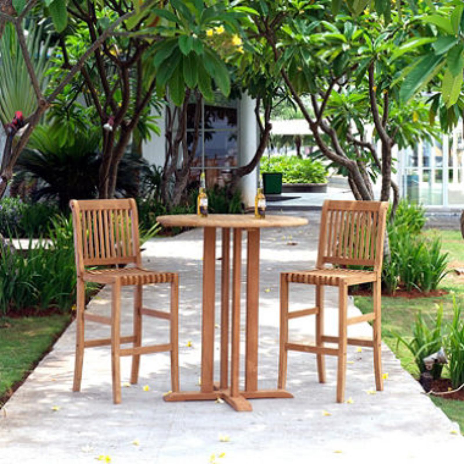 bistro bar sets outdoor furniture photo - 6