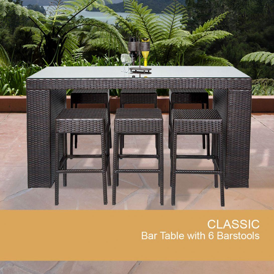 bistro bar sets outdoor furniture photo - 7