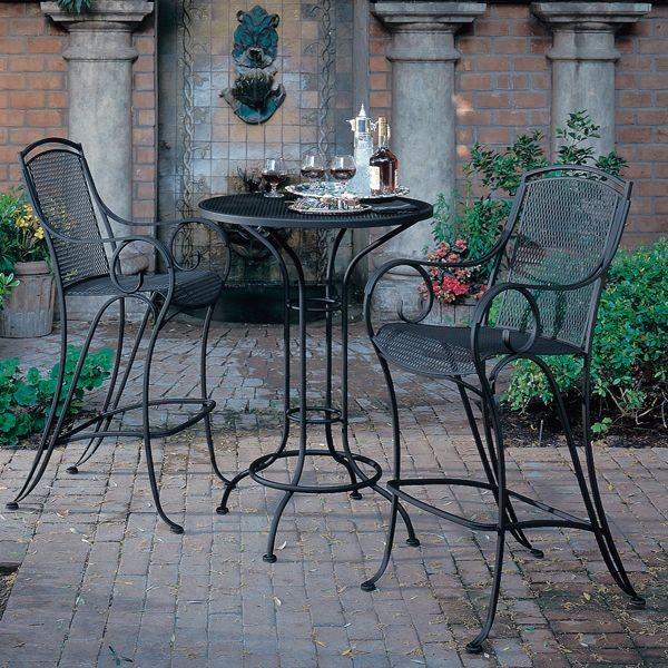bistro bar sets outdoor furniture photo - 8