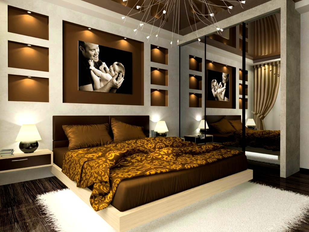 Black And Gold Bedroom Design Ideas Photo   4