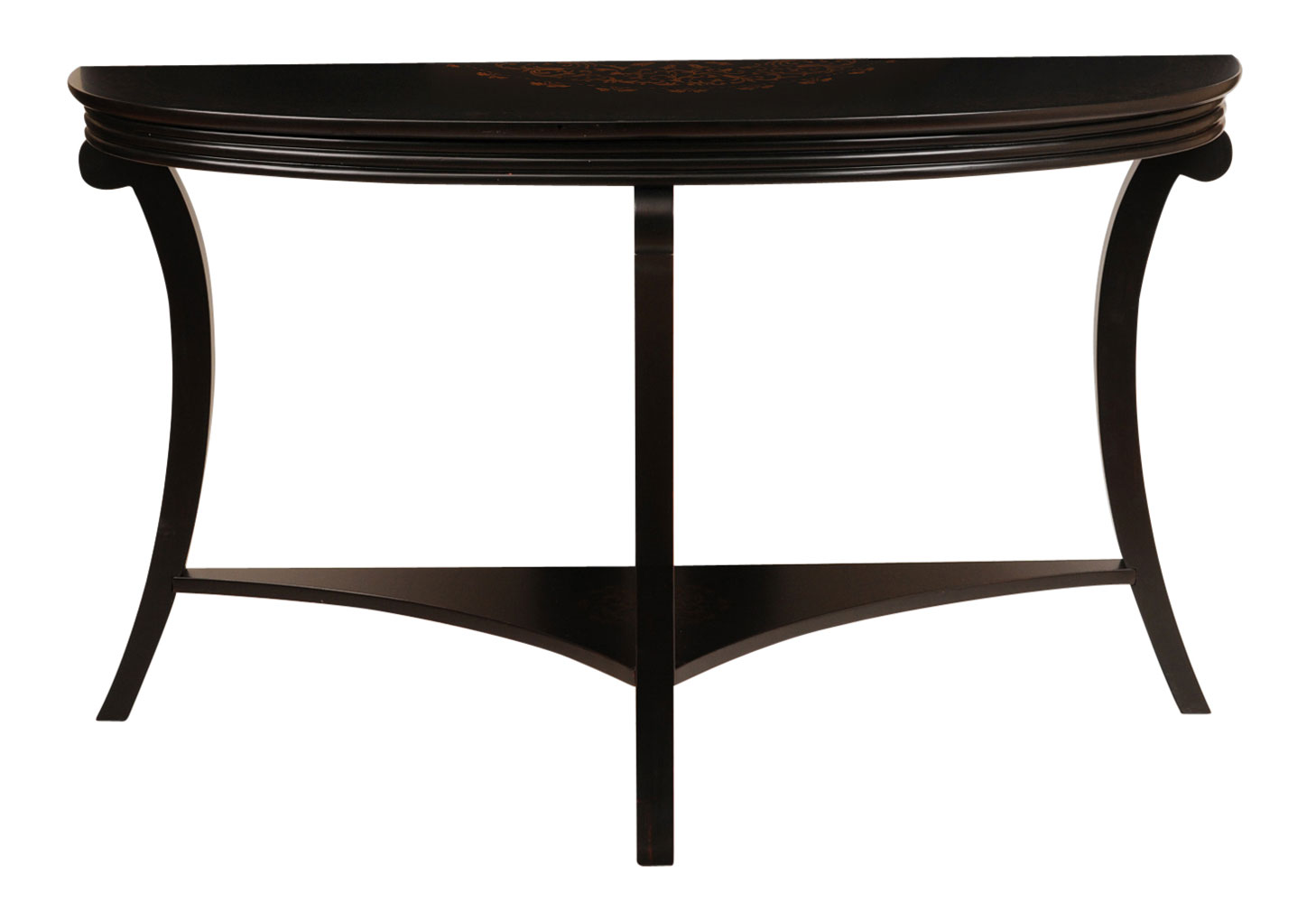black and gold sofa table photo - 6
