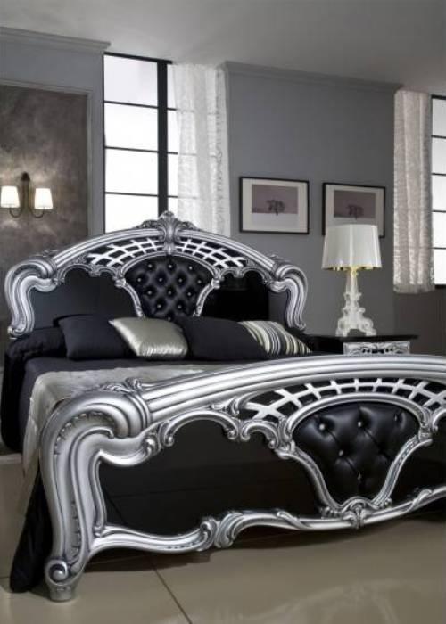 Black and silver bedroom sets | Hawk Haven