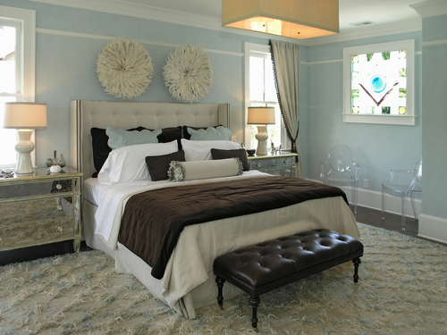 black and white and blue bedrooms photo - 8