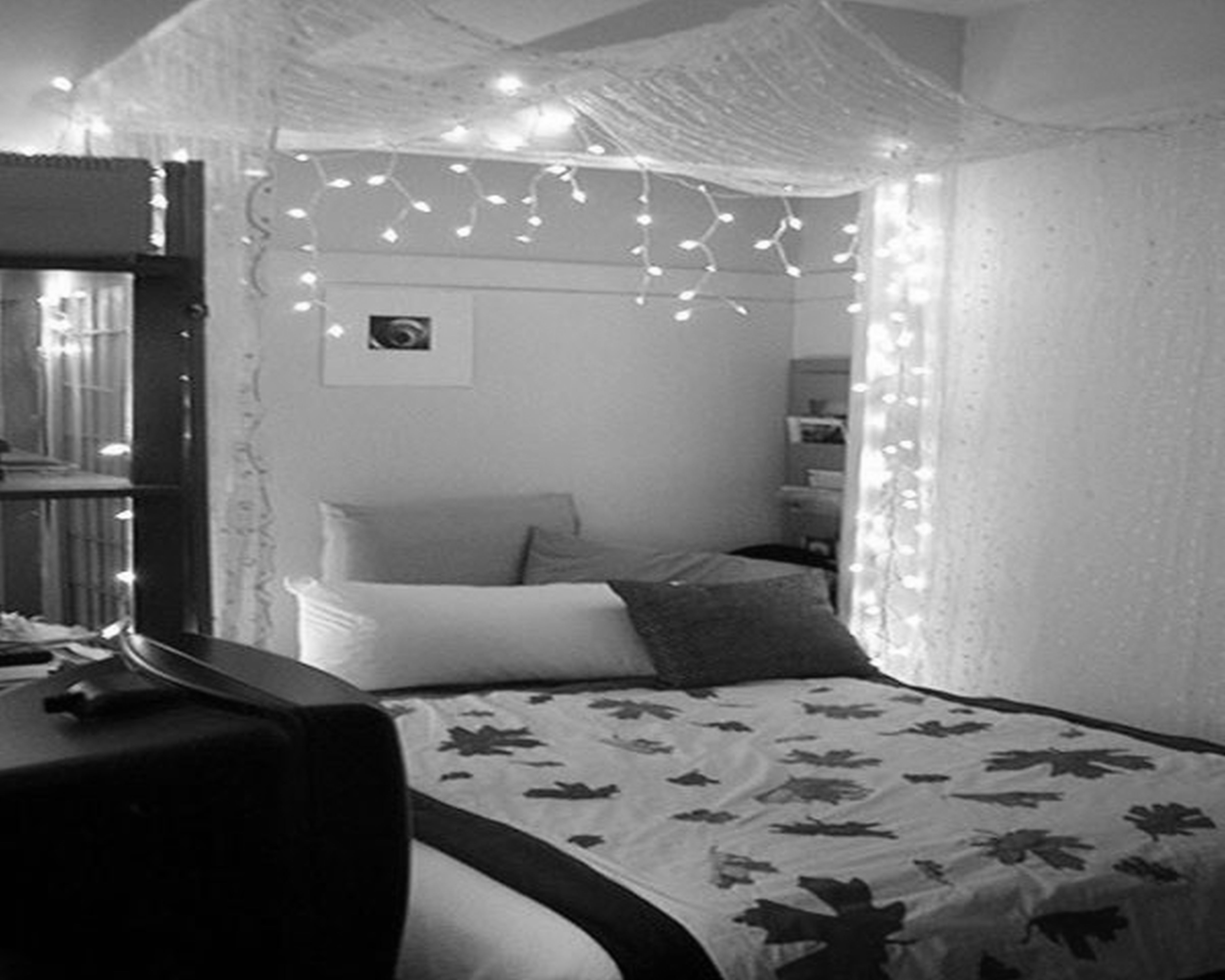 black and white bedroom designs for girls photo - 8