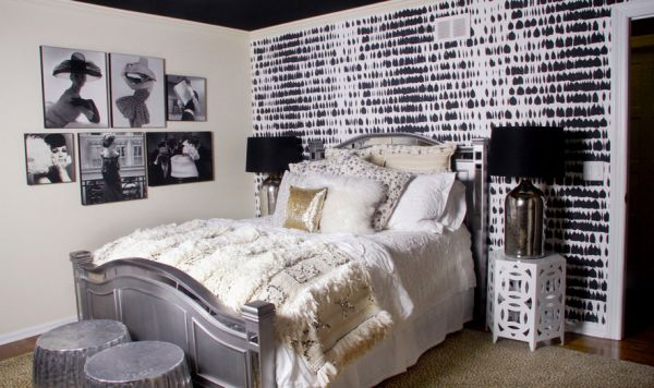 black and white bedroom designs for kids photo - 5