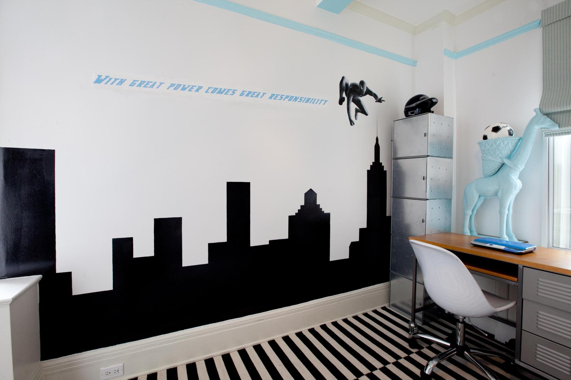 black and white bedroom designs for kids photo - 9