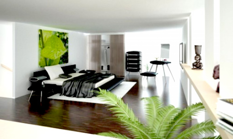 black and white bedroom designs for men photo - 4