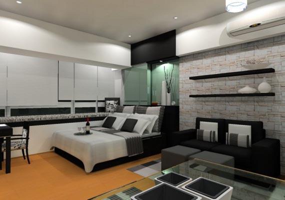 black and white bedroom designs for men photo - 9