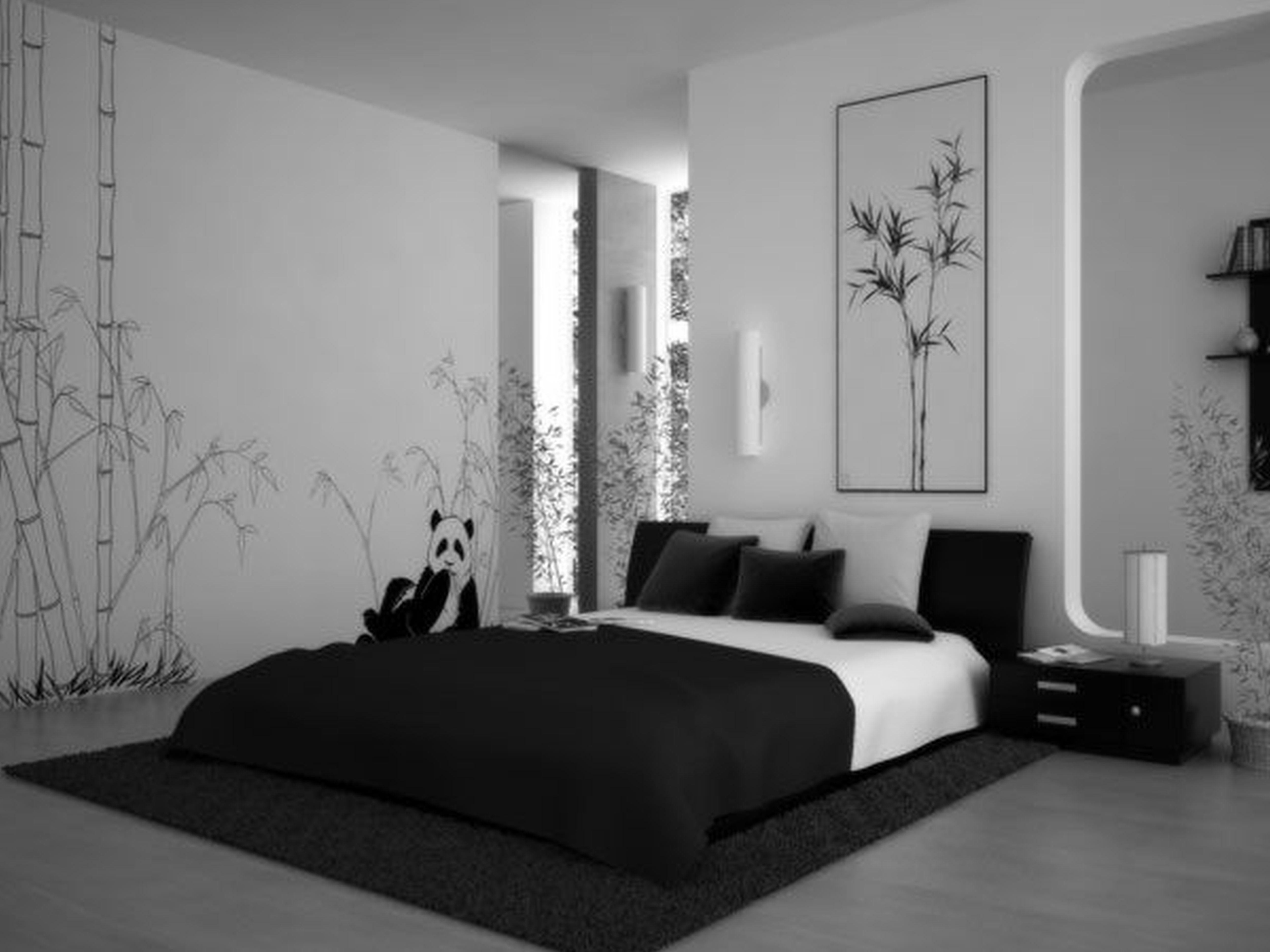 black and white bedroom designs for teenage girls photo - 10