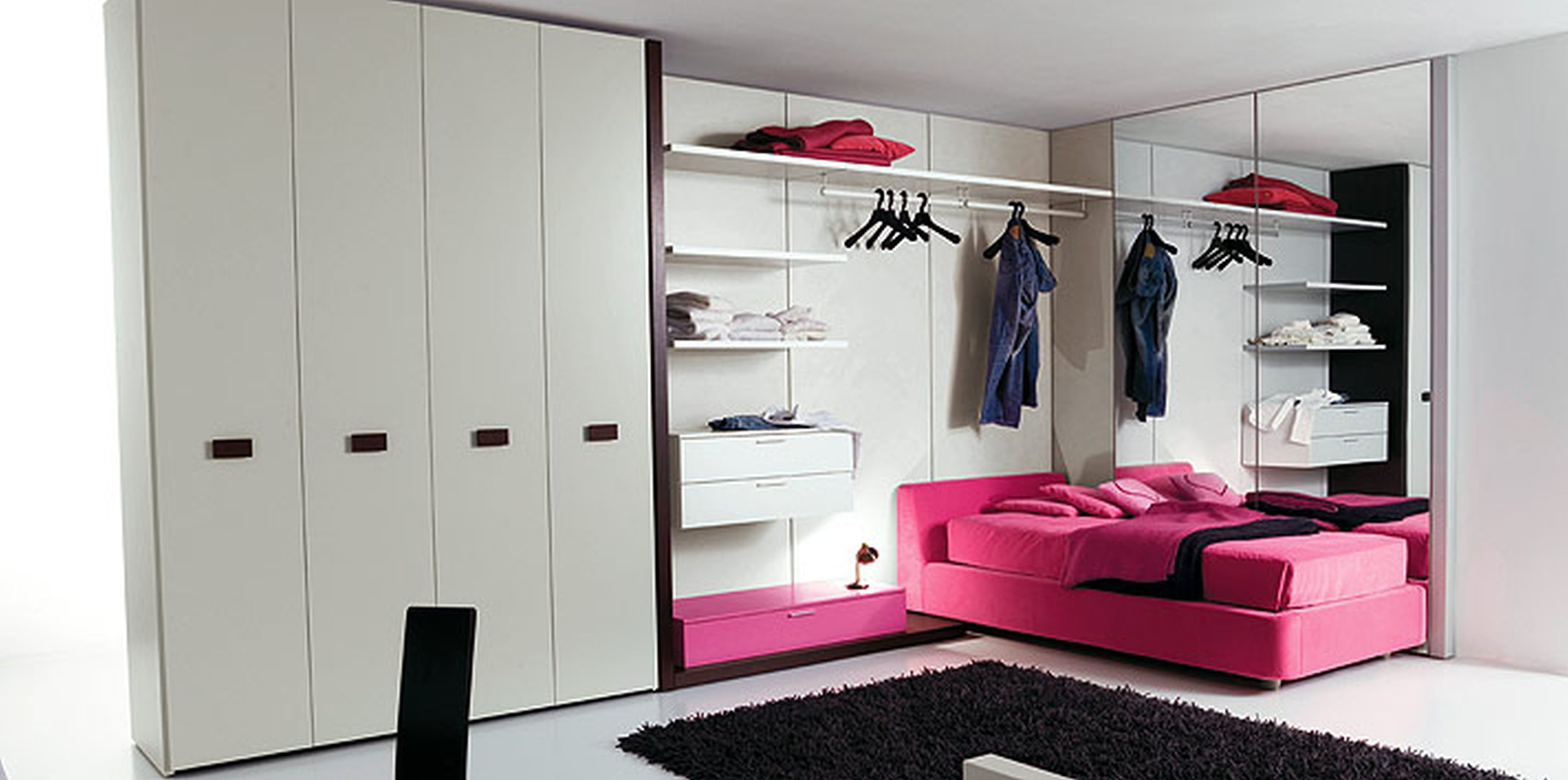 Black And White Bedroom Designs For Teenage Girls Photo   9