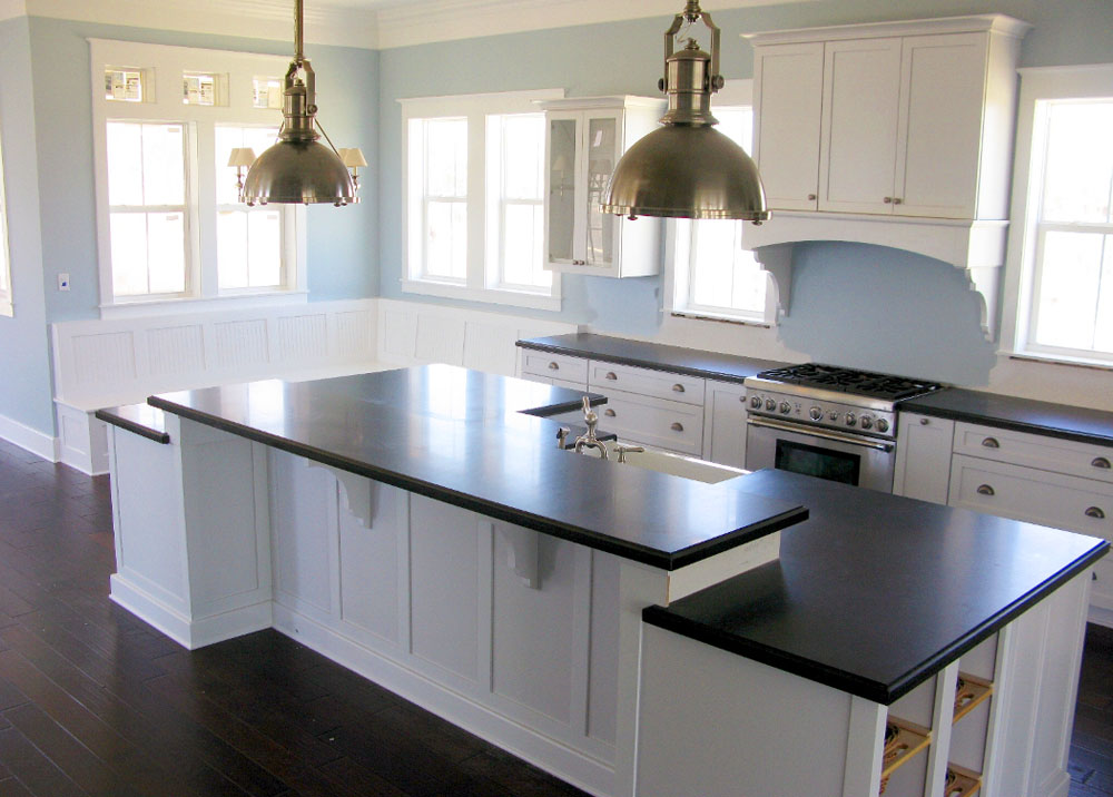black and white country kitchen designs photo - 5