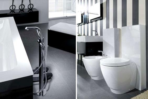 black and white kids bathroom ideas photo - 1