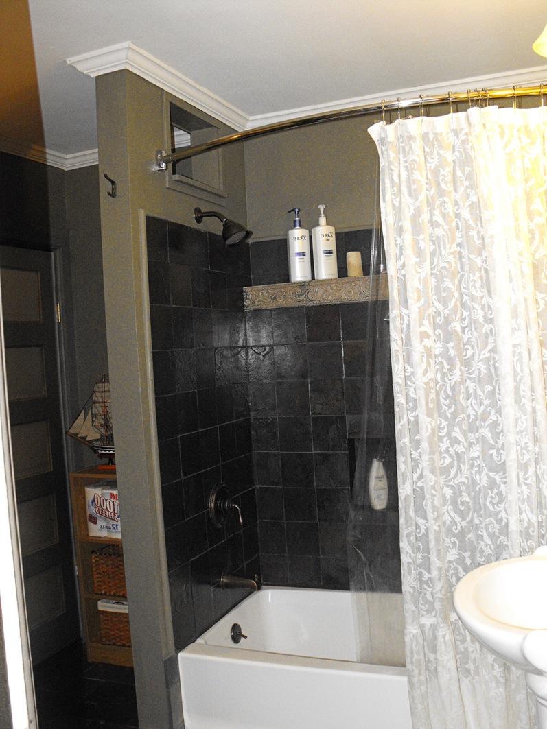 black and white kids bathroom ideas photo - 10