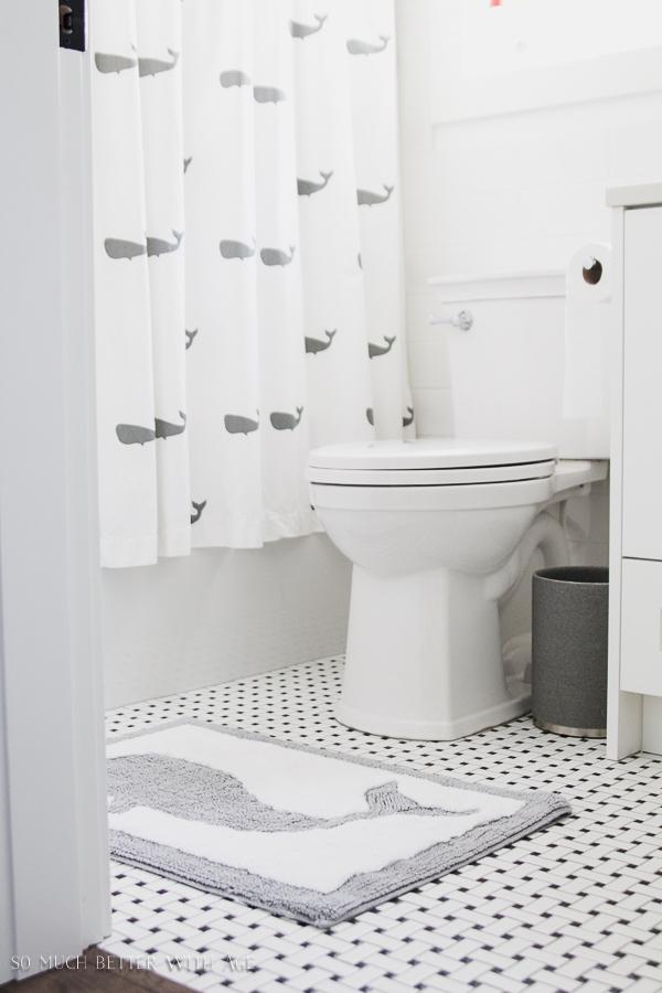 black and white kids bathroom ideas photo - 6