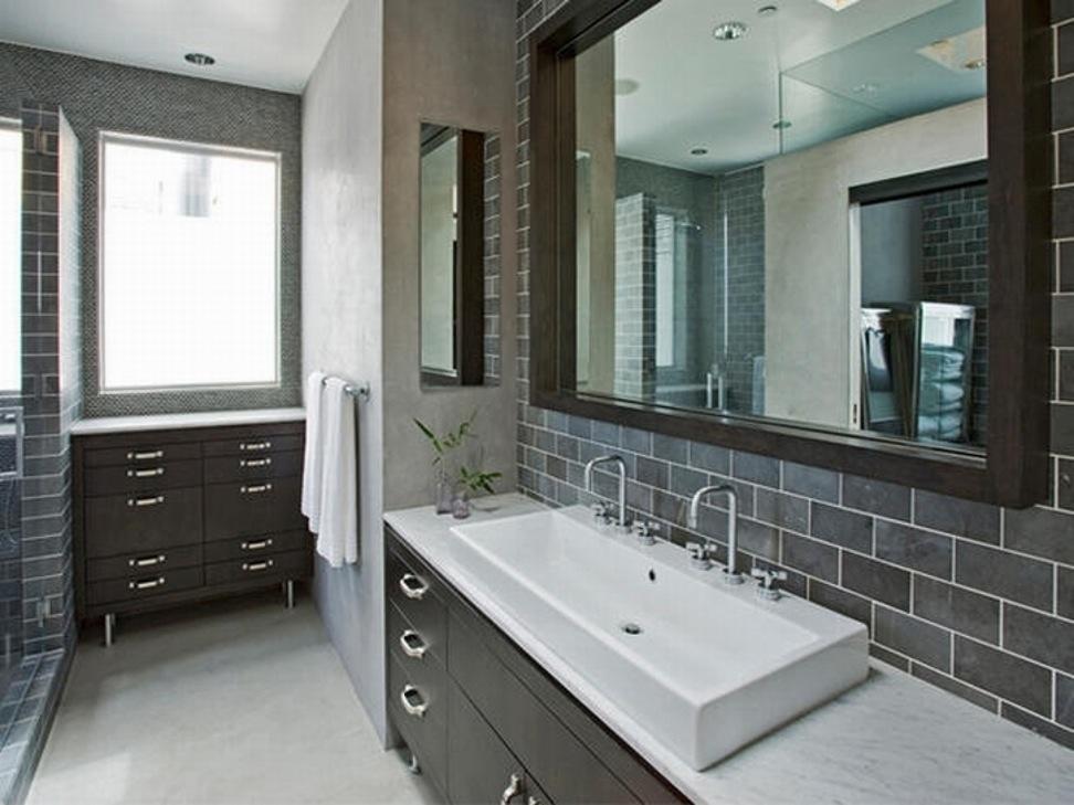 black and white kids bathroom ideas photo - 7