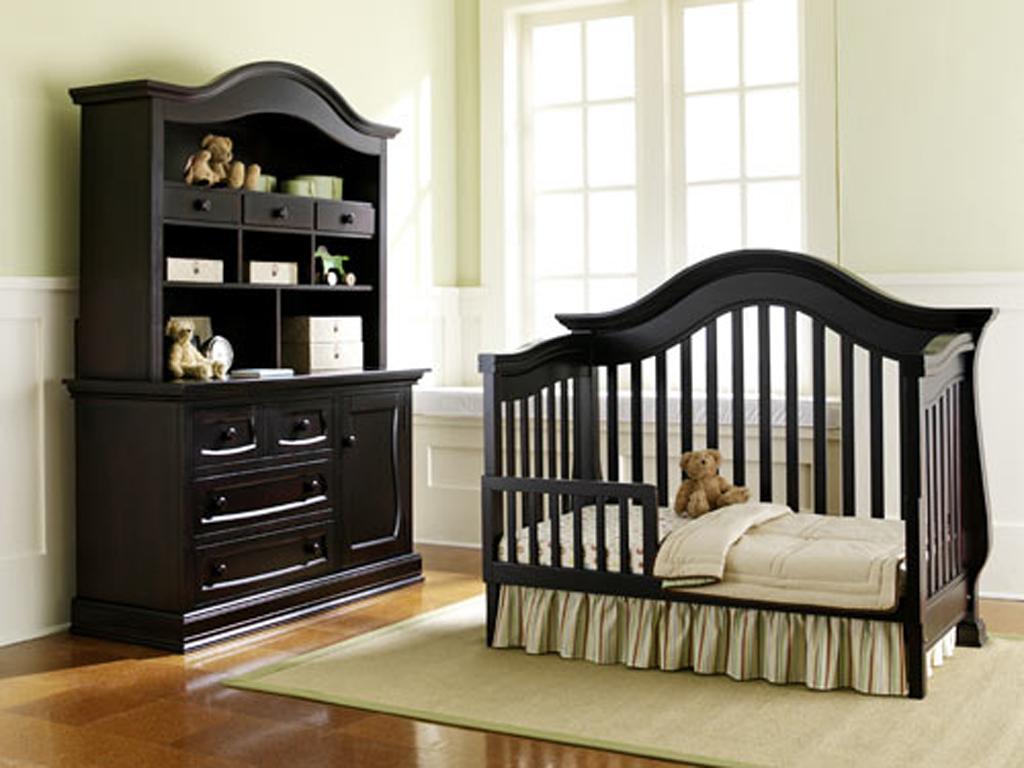 black baby bedroom furniture photo - 1