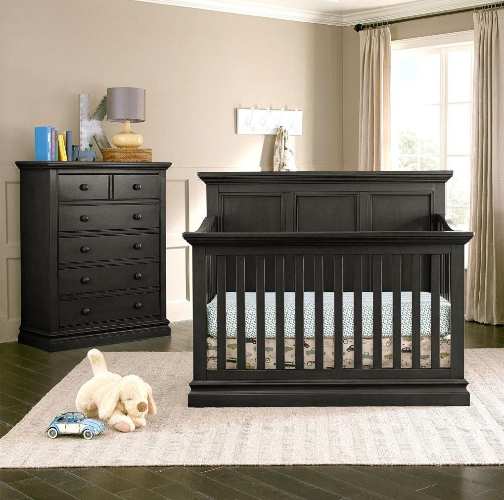 black baby bedroom furniture photo - 5