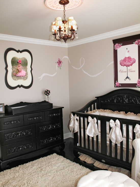 black baby bedroom furniture photo - 6