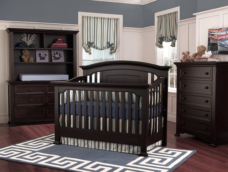 black baby bedroom furniture photo - 8