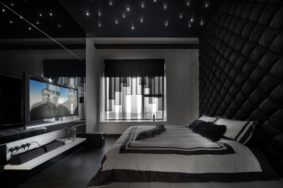 black bedroom design pictures photo - 3