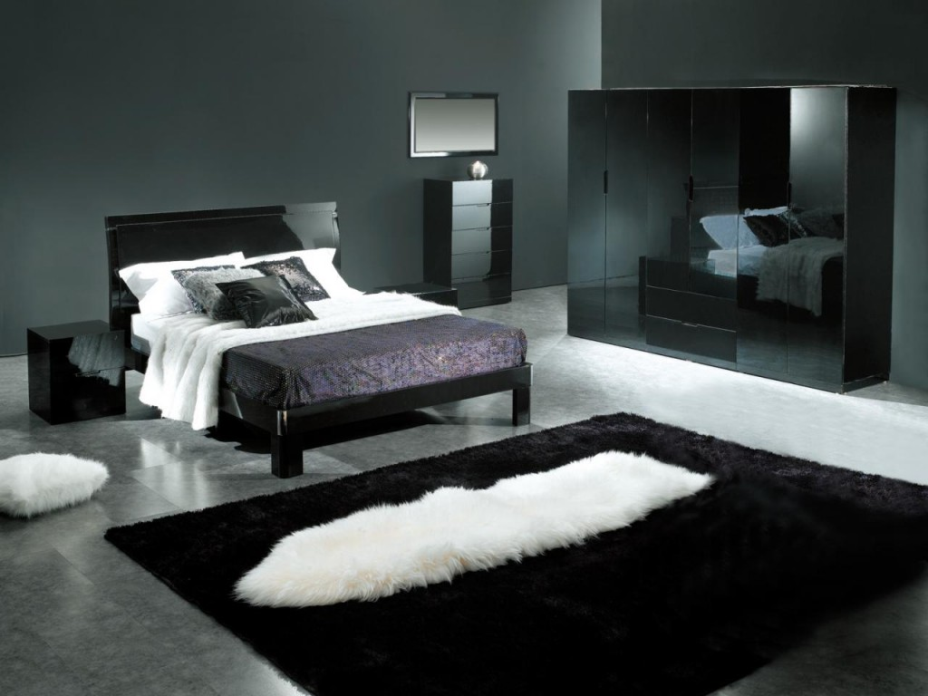 black bedroom design pictures photo - 5