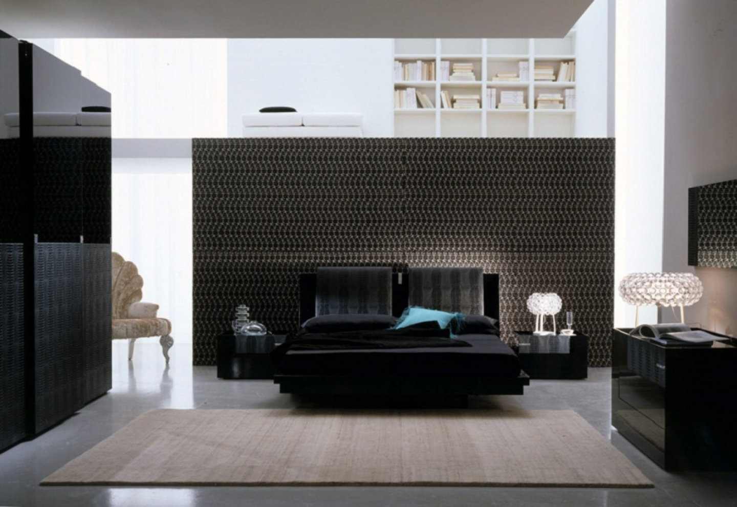 black bedroom design pictures photo - 6