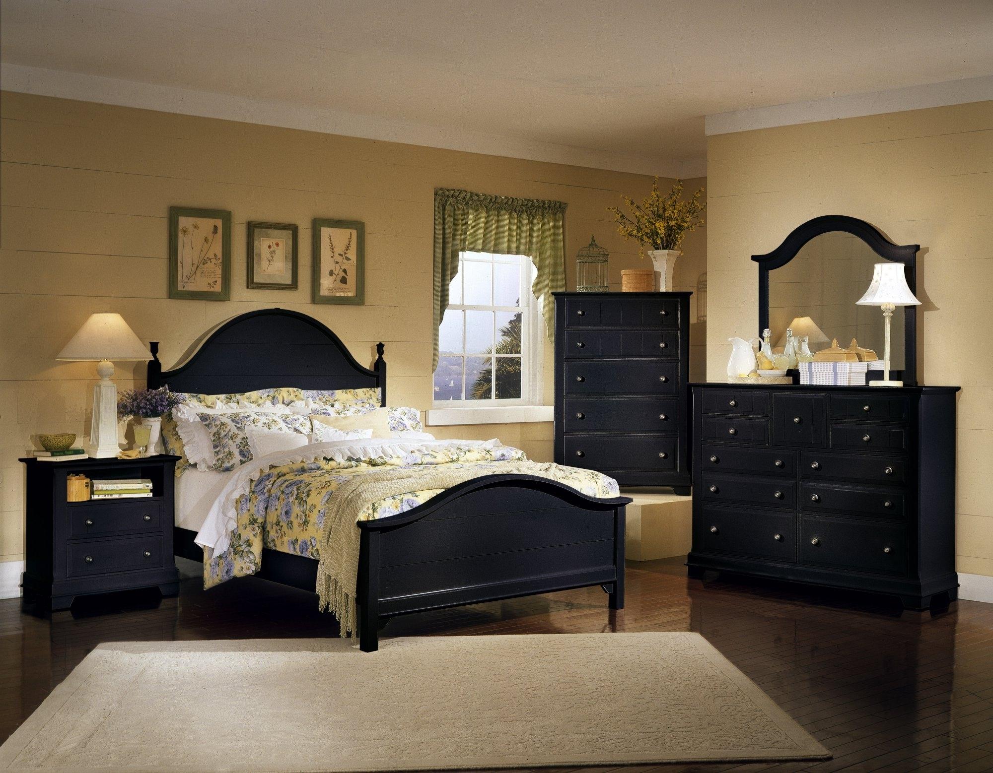 black bedroom furniture decorating ideas photo - 10