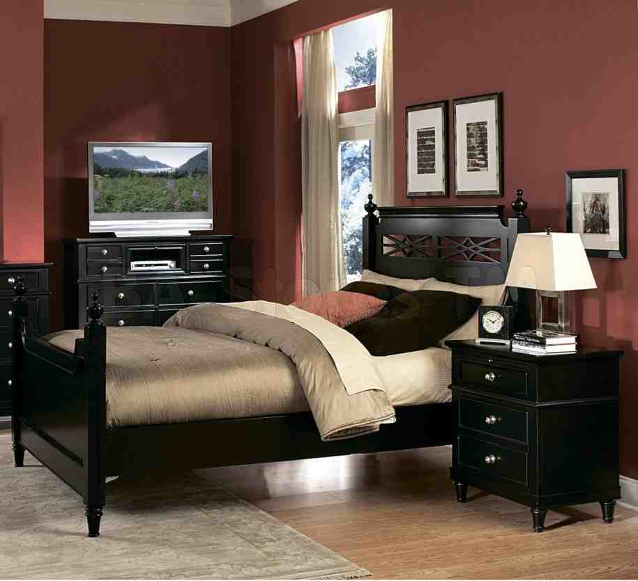 black bedroom furniture decorating ideas photo - 3
