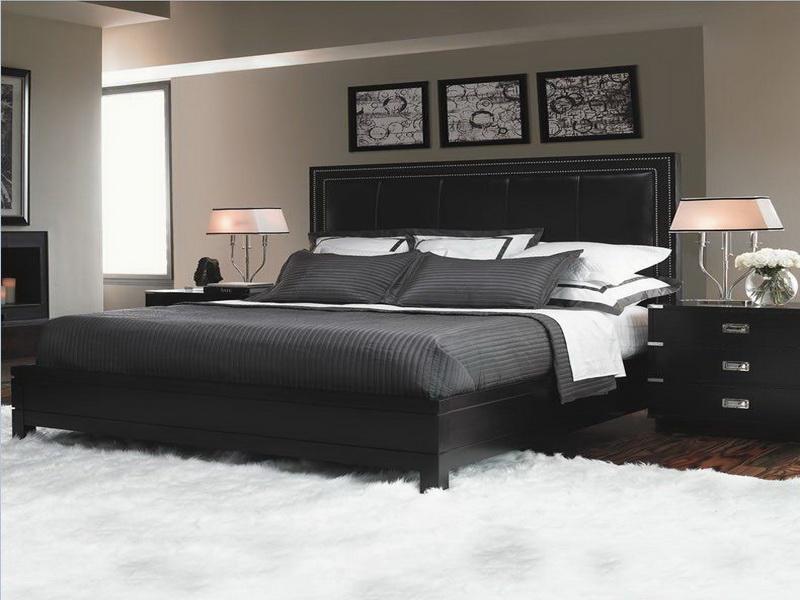black bedroom furniture decorating ideas photo - 6