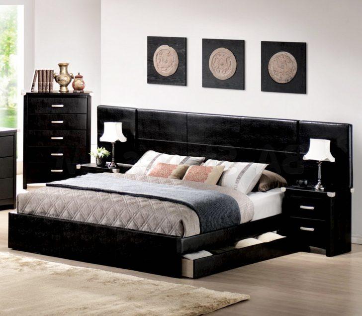 black bedroom furniture decorating ideas photo - 7