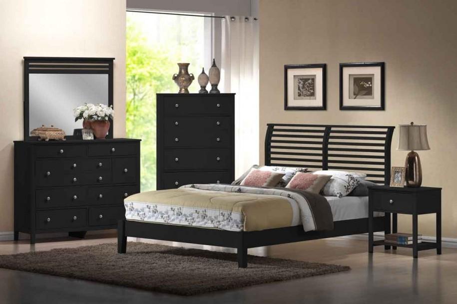 black bedroom furniture for girls photo - 8
