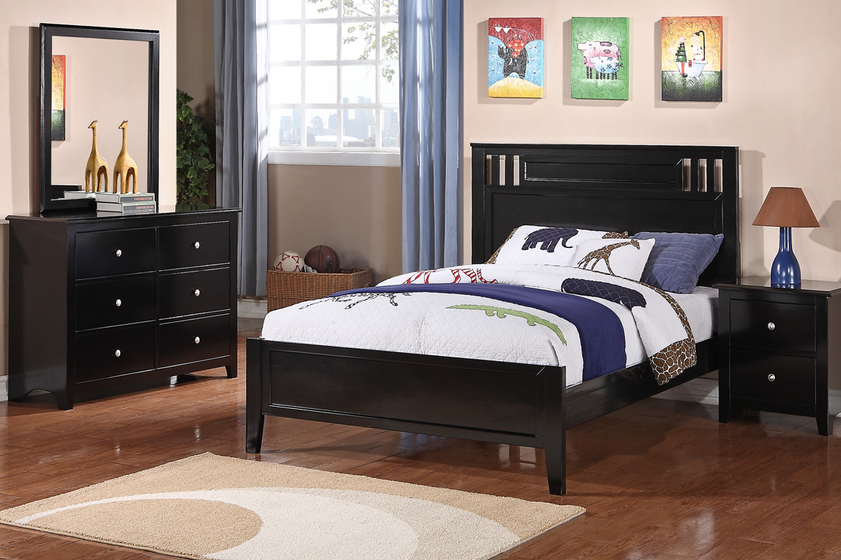 black bedroom furniture full size photo - 7