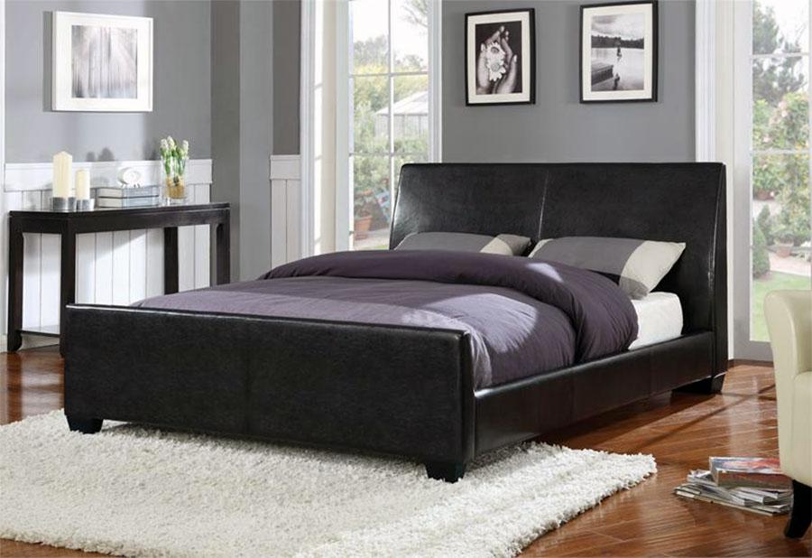 black bedroom furniture queen photo - 5