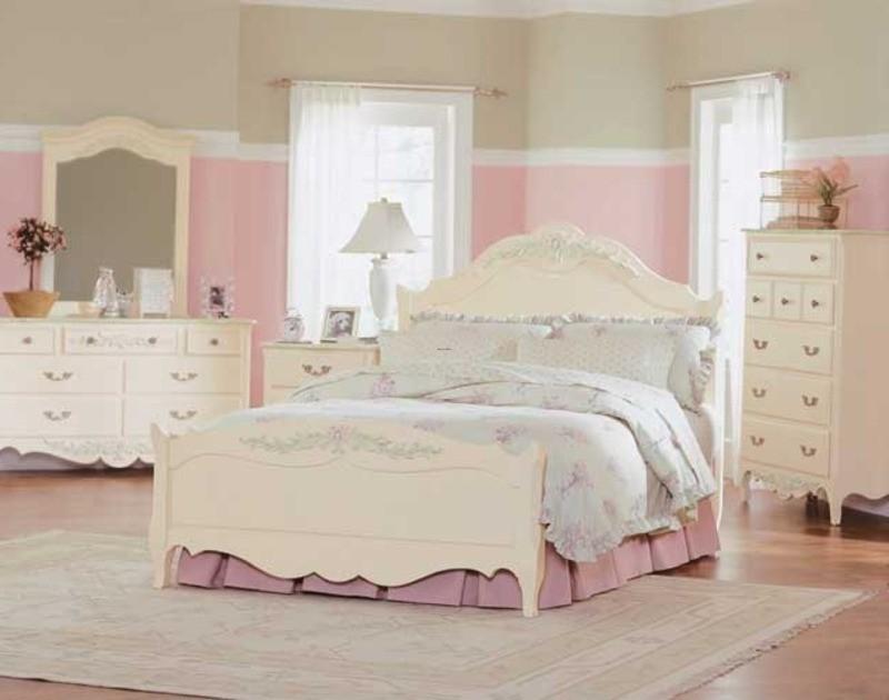 black bedroom furniture sets girls photo - 5