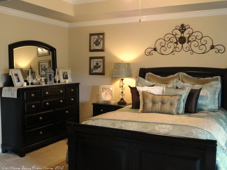 black bedroom furniture what color walls photo - 7