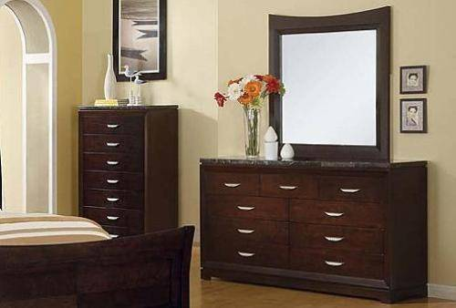 Black Bedroom Furniture With Marble Top Photo   4