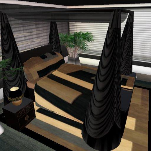 black brown bedroom furniture photo - 10