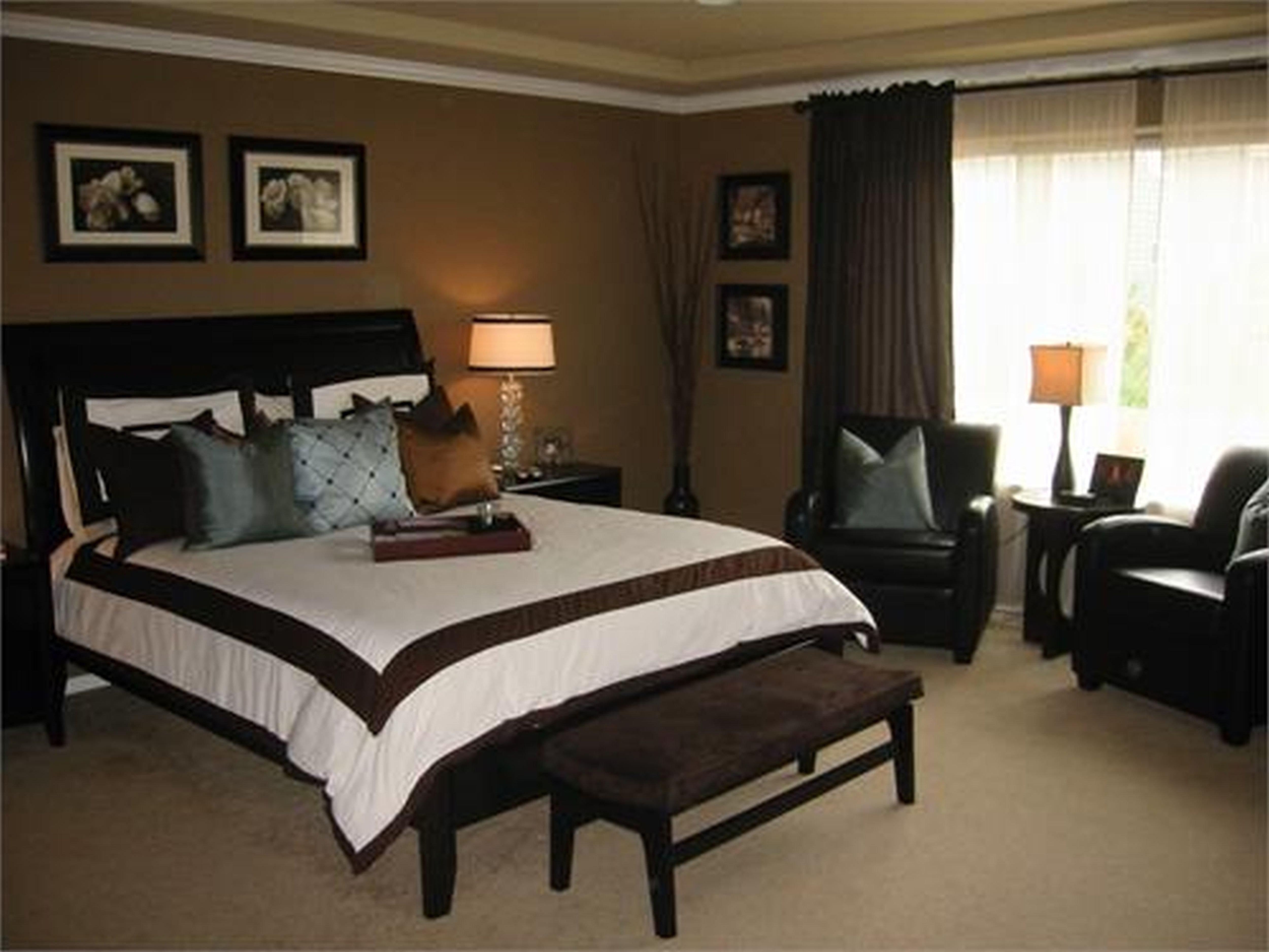 black brown bedroom furniture photo - 2