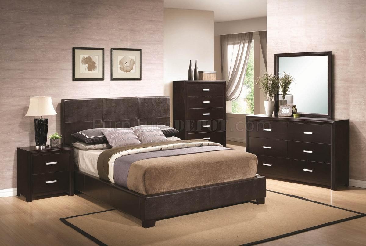 black brown bedroom furniture photo - 4